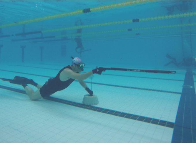 tiro piscina